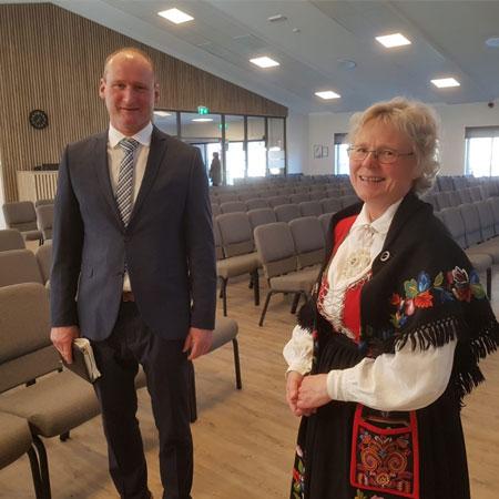 Jørgen Tønnessen og Ingunn Holm